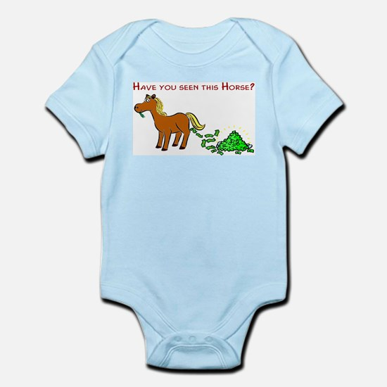 Have you seen this Horse? Infant Bodysuit