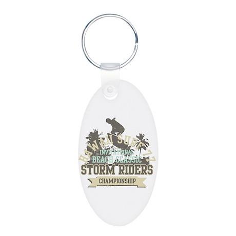Storm riders Aluminum Oval Keychain