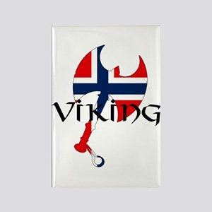 Norway Viking Rectangle Magnet