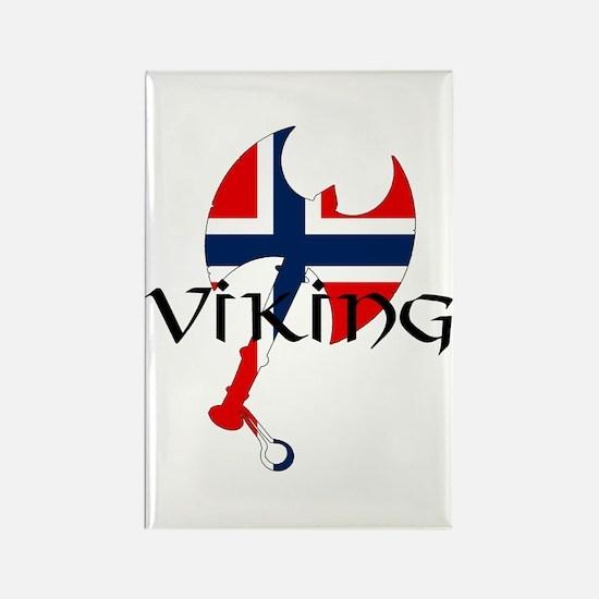 Norway Viking Rectangle Magnet