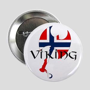 "Norway Viking 2.25"" Button"