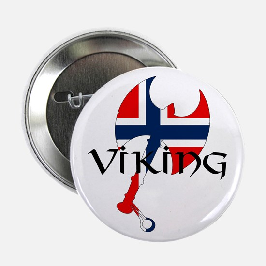 "Norway Viking 2.25"" Button"