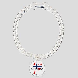 Norway Viking Charm Bracelet, One Charm