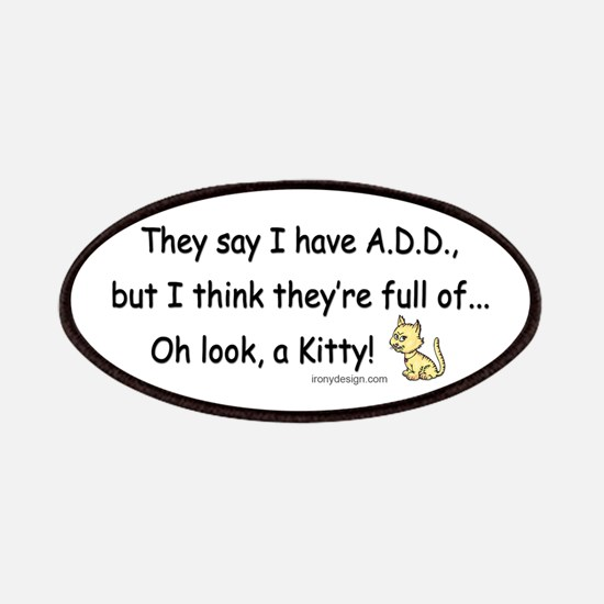 ADD Kitty Humor Patches