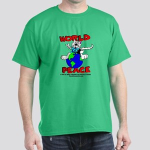 WORLD PEACE CAT-ALL PRODUCTS Dark T-Shirt