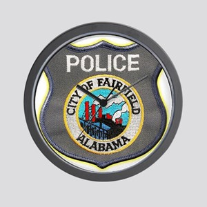 Fairfield Police Department Wall Clock