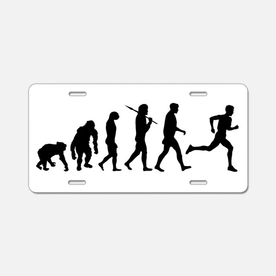 Evolution of Running Aluminum License Plate