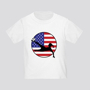 4208a3749b2 Womens Usa Soccer Toddler T-Shirts - CafePress