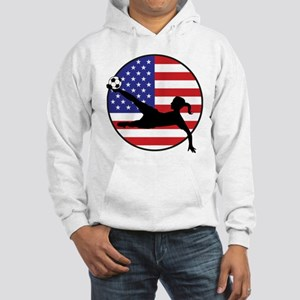 US Women's Soccer Hooded Sweatshirt