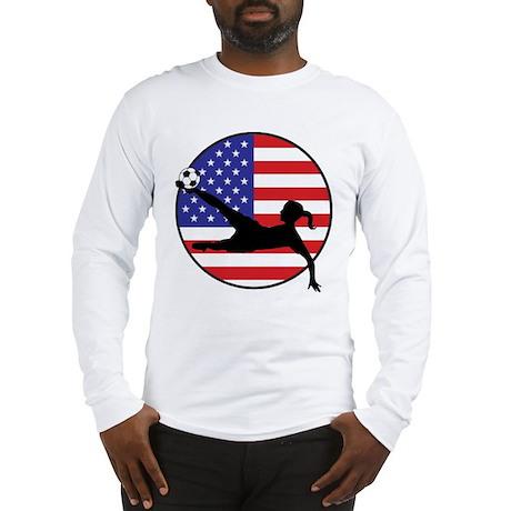 US Women's Soccer Long Sleeve T-Shirt