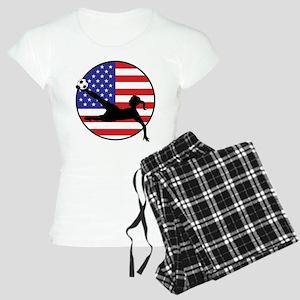 US Women's Soccer Women's Light Pajamas