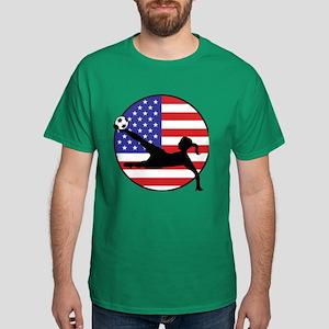 US Women's Soccer Dark T-Shirt