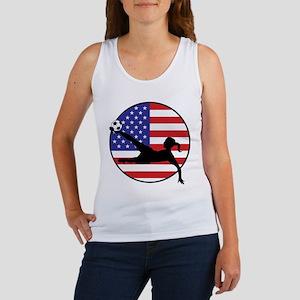 US Women's Soccer Women's Tank Top
