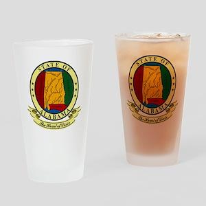 Alabama Seal Pint Glass