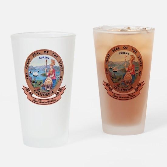California Seal Pint Glass