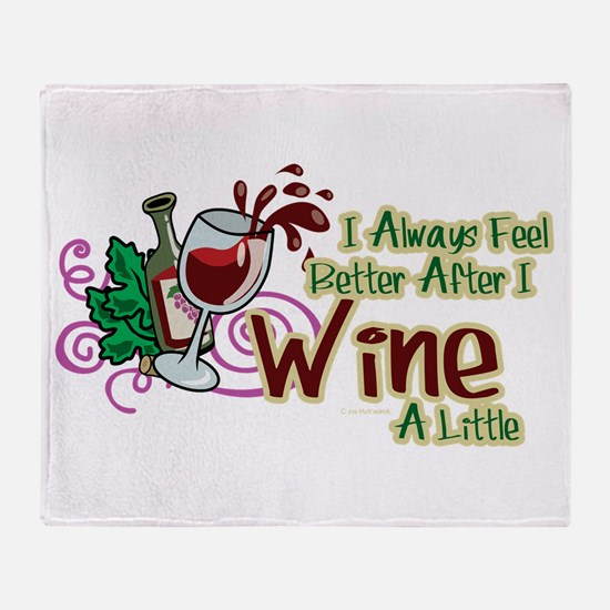 etter After Wine Throw Blanket