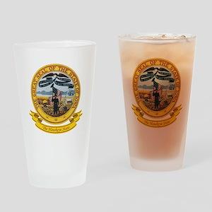 Iowa Seal Drinking Glass