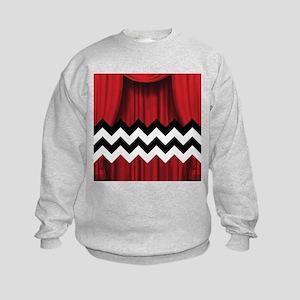 twin peaks chevron Sweatshirt
