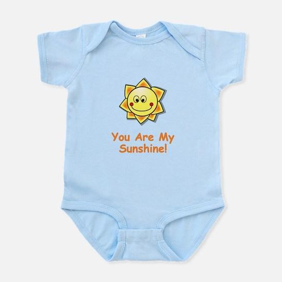 You Are My Sunshine Orange Body Suit