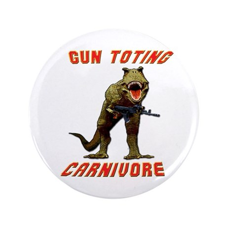 """T Rex w AK 3.5"""" Button"""