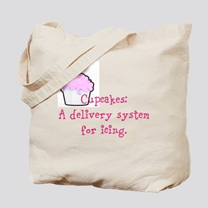 Cupcakes are: Tote Bag