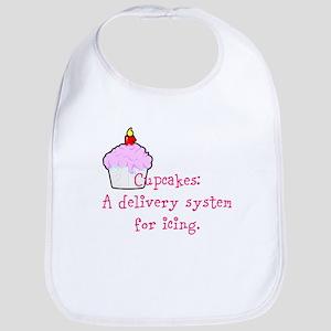 Cupcakes are: Bib