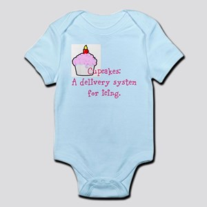 Cupcakes are: Infant Bodysuit