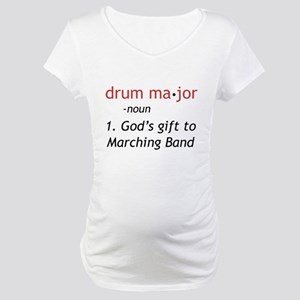 Definition of Drum Major Maternity T-Shirt