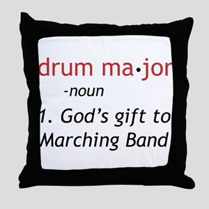 Definition of Drum Major Throw Pillow