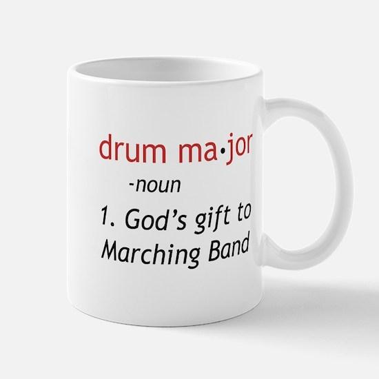 Definition of Drum Major Mug