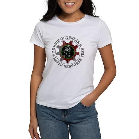 Zombie Outbreak Rapid Response Women's T-Shirt