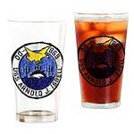 USS ARNOLD J. ISBELL Drinking Glass