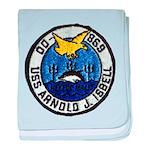 USS ARNOLD J. ISBELL baby blanket