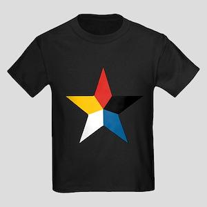 Republic of China 1916 Rounde Kids Dark T-Shirt