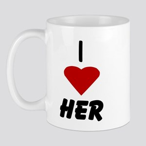 I Heart Her Mug