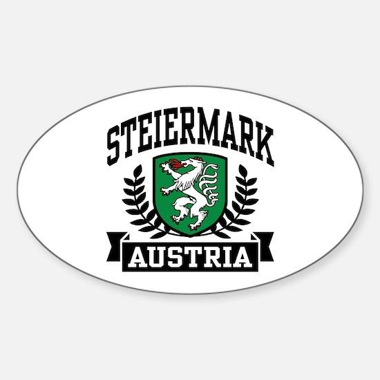Steiermark Austria Sticker (Oval)