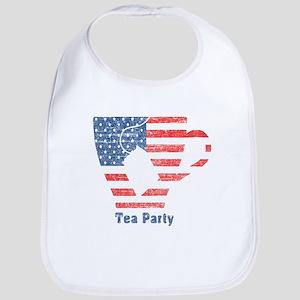 American Tea Cup Bib
