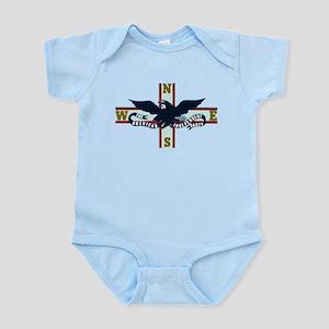 American Independent Logo Infant Bodysuit