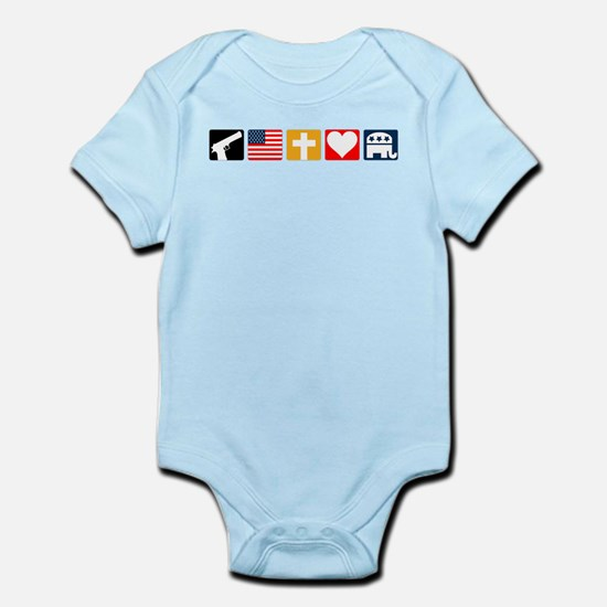 Right Priorities Infant Bodysuit