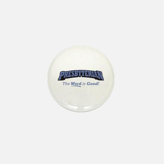Presbyterian / Word Mini Button