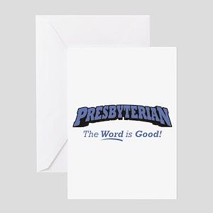 Presbyterian / Word Greeting Card