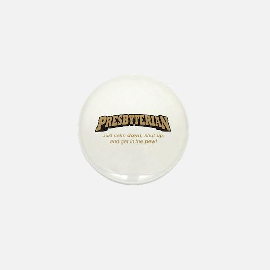 Presbyterian / Pew Mini Button