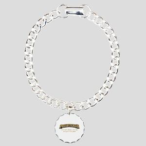 Presbyterian / Pew Charm Bracelet, One Charm