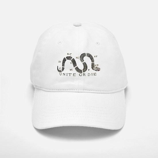 Unite or Die Baseball Baseball Cap