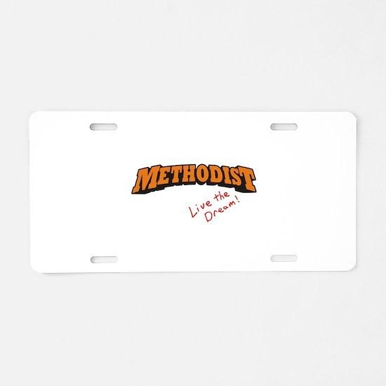 Methodist / LTD Aluminum License Plate