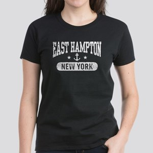 East Hampton New York Women's Dark T-Shirt