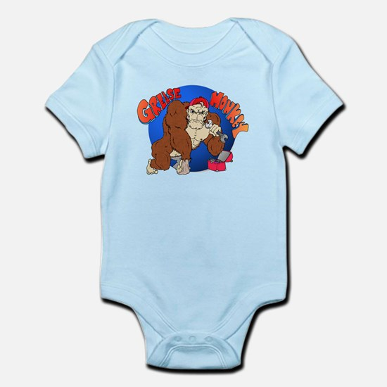 Grease Monkey Infant Bodysuit