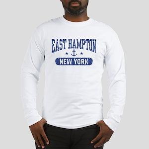 East Hampton New York Long Sleeve T-Shirt