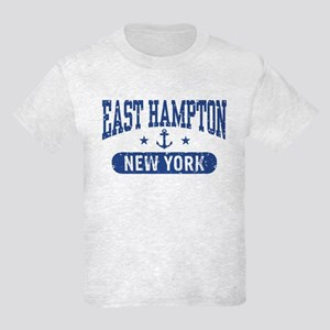 East Hampton New York Kids Light T-Shirt