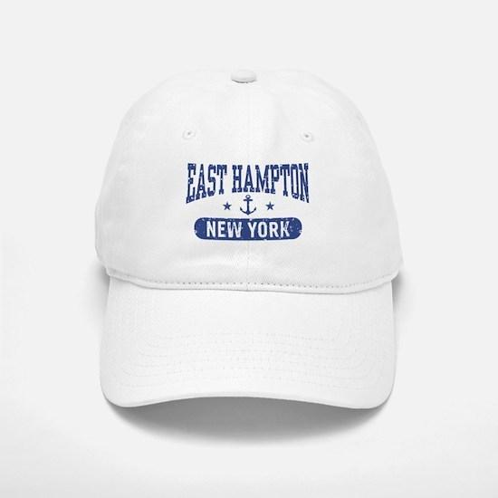 East Hampton New York Baseball Baseball Cap